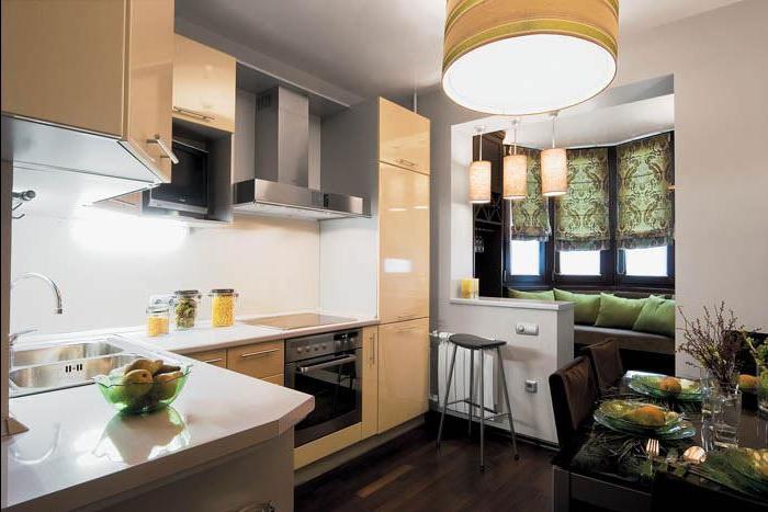 Дизайн кухонь 10 кв м с балконом