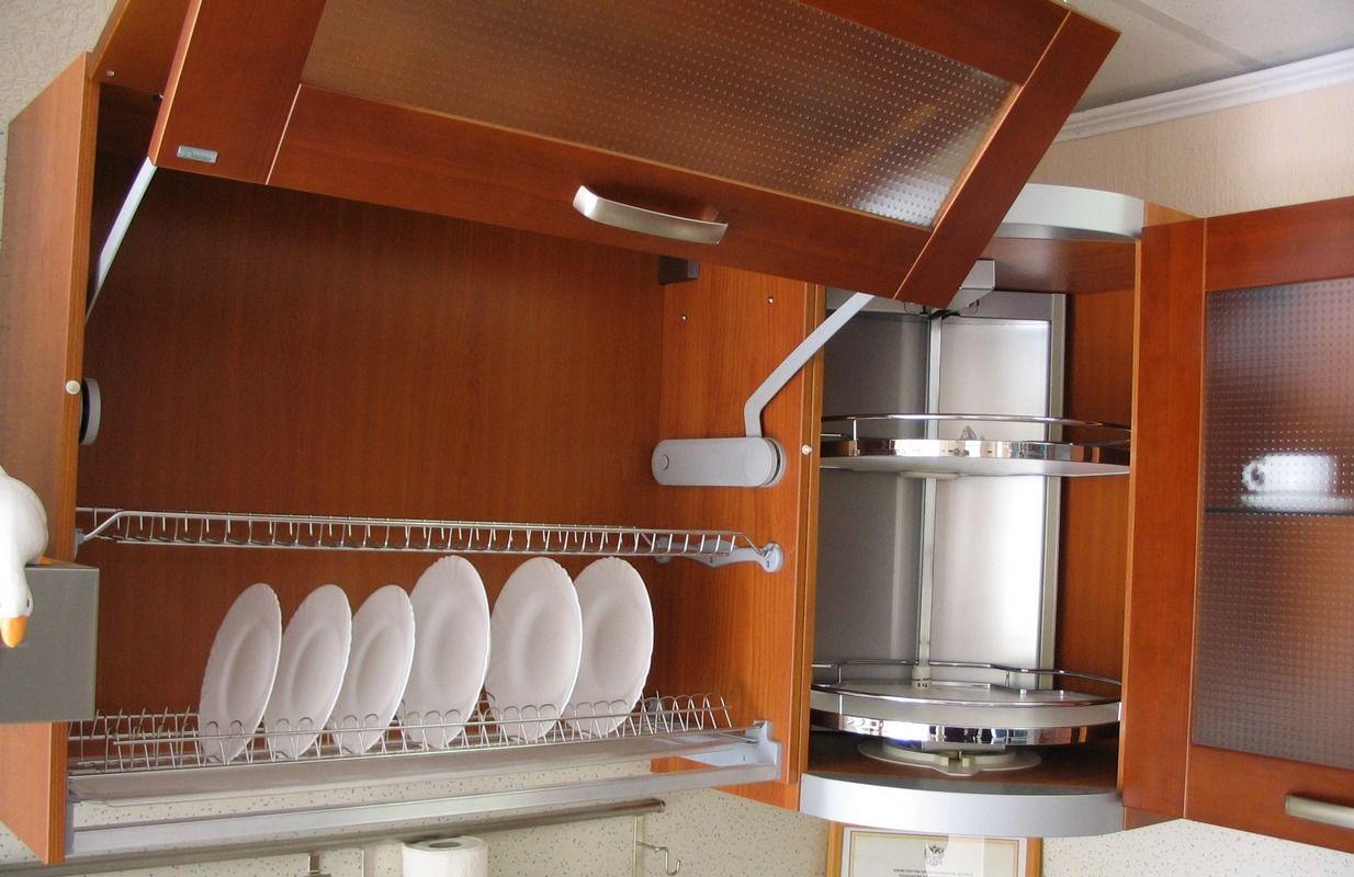 Доводчики для кухонных шкафов: долговечность зависит от качества