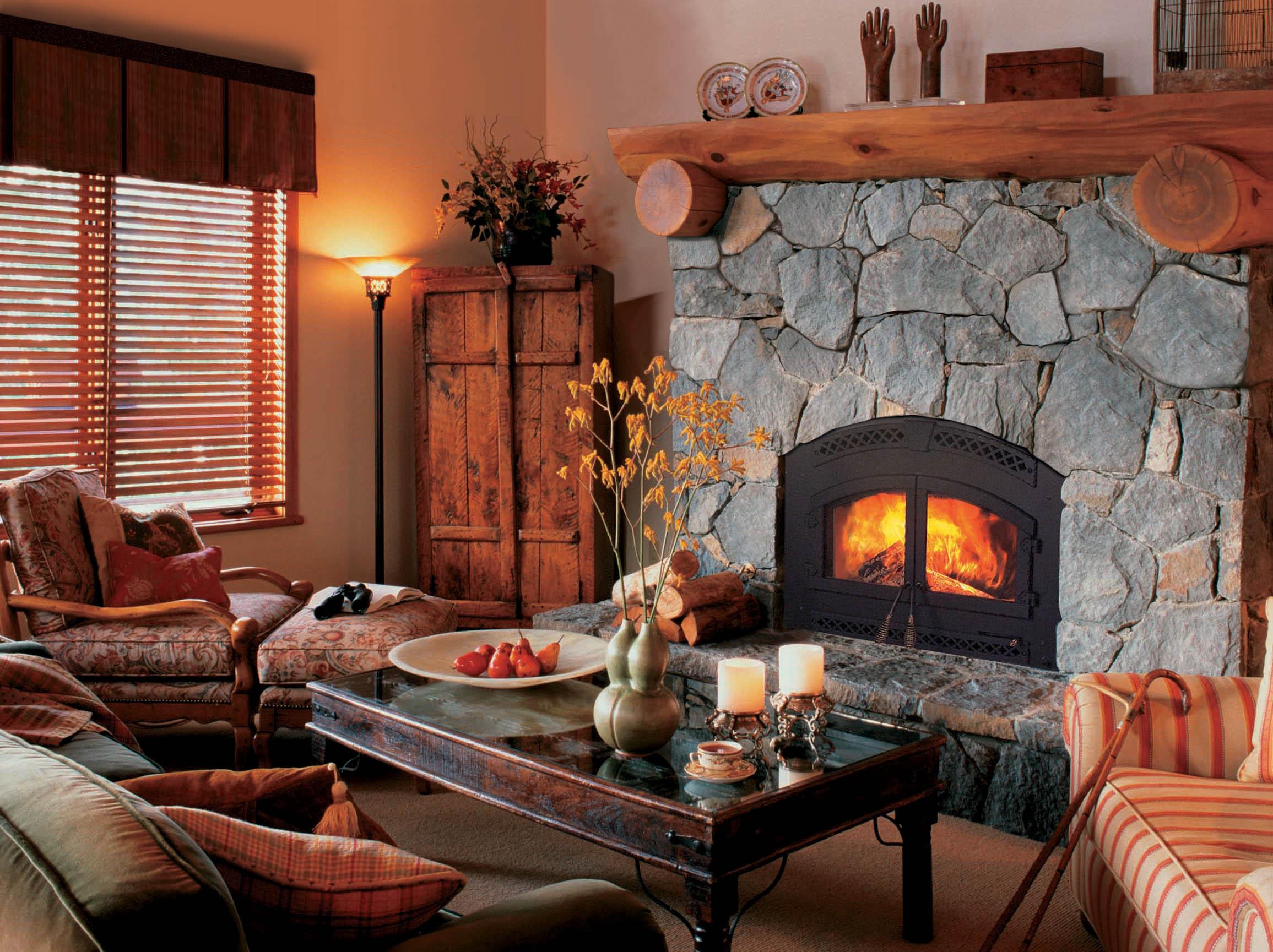 скромно картинки уютный дом с камином подробной карте хутора