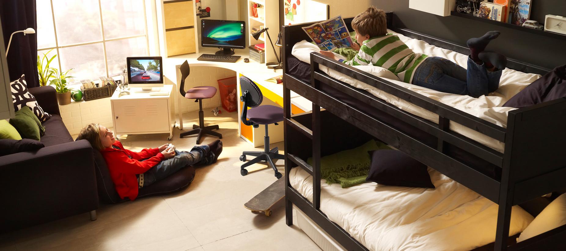 двухъярусные кровати икеа фото и цены