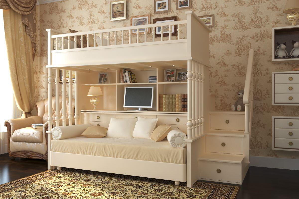 Двухэтажные кровати для подростков изоражения