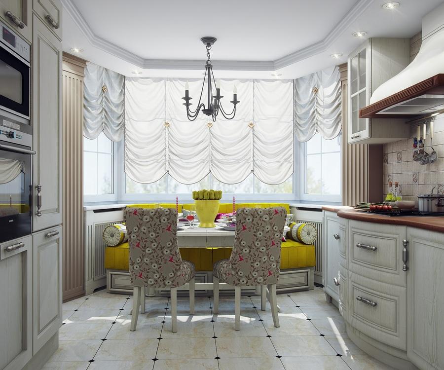 Дизайн кухни 10 кв м с эркером дизайн кухни - фото, описание.
