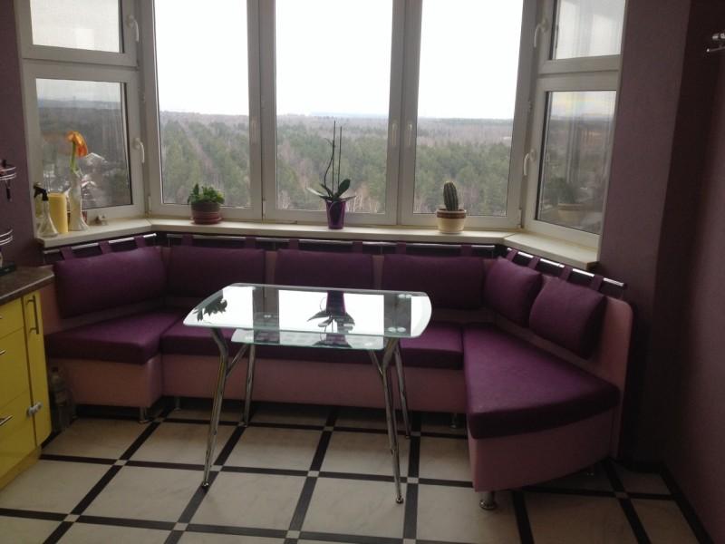 Эркерный диван на кухню своими руками 39