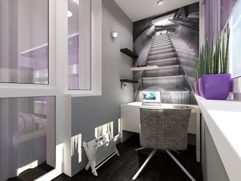 балкон кабинет фото дизайн