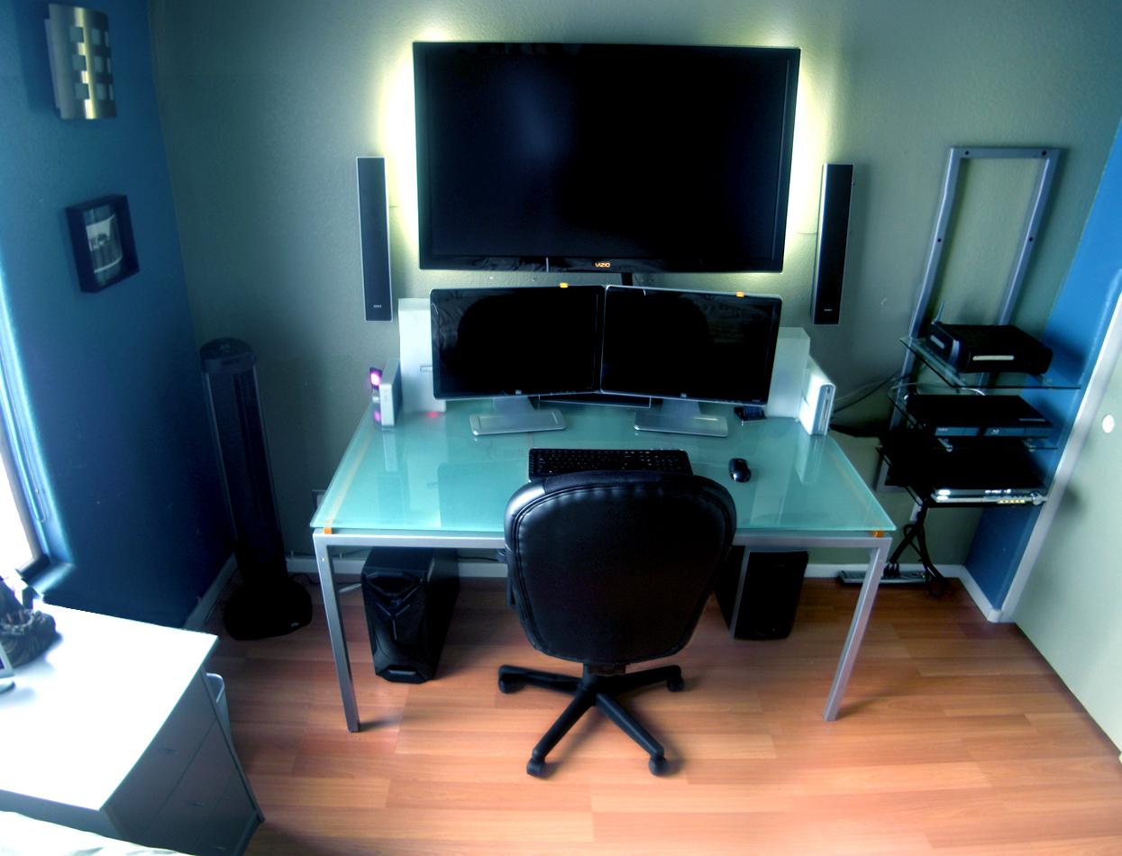 Домашний офис: фотографии рабочих мест kamolinsh.