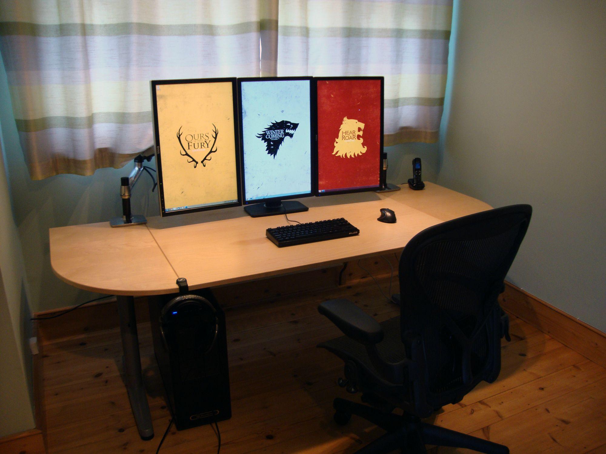Игровой стол для компьютера: угловой компьютерный стол razer.
