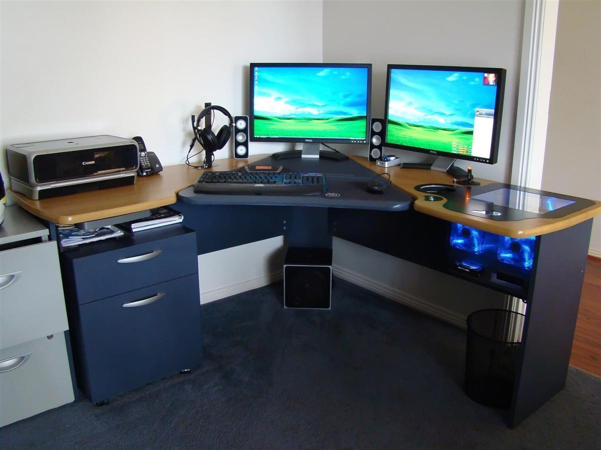 Как сделать себе компьютерный стол 716