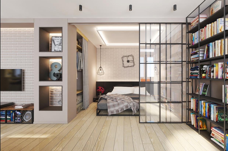ремонт однокомнатных квартир фото современный дизайн 2016