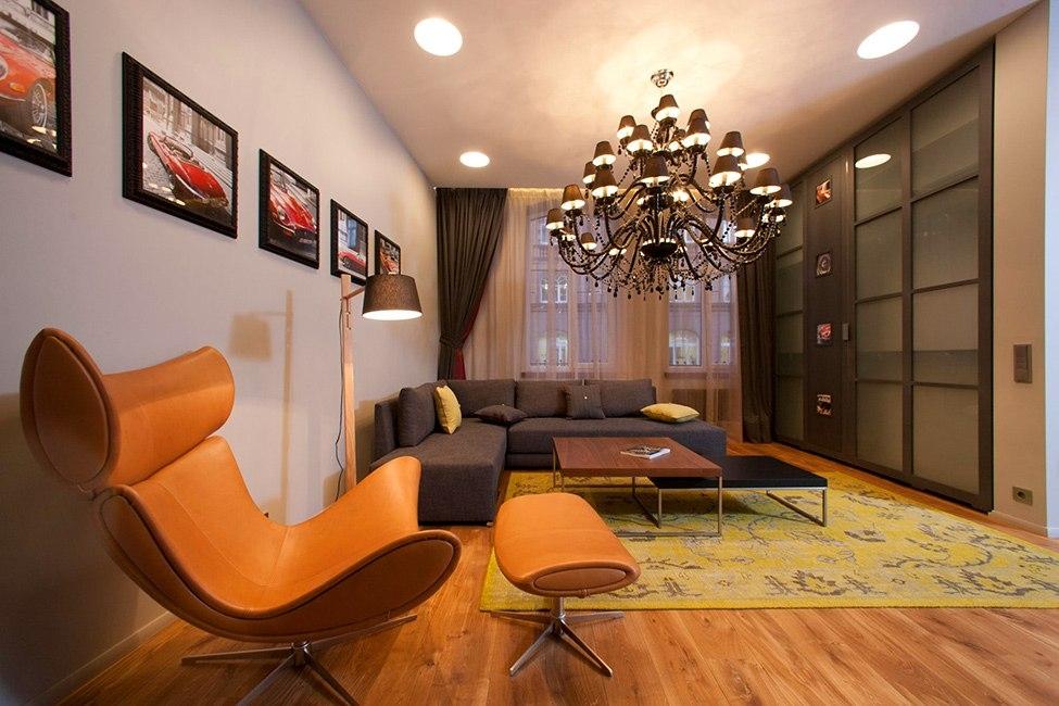 дизайн однокомнатных квартир студио в современном стиле фото