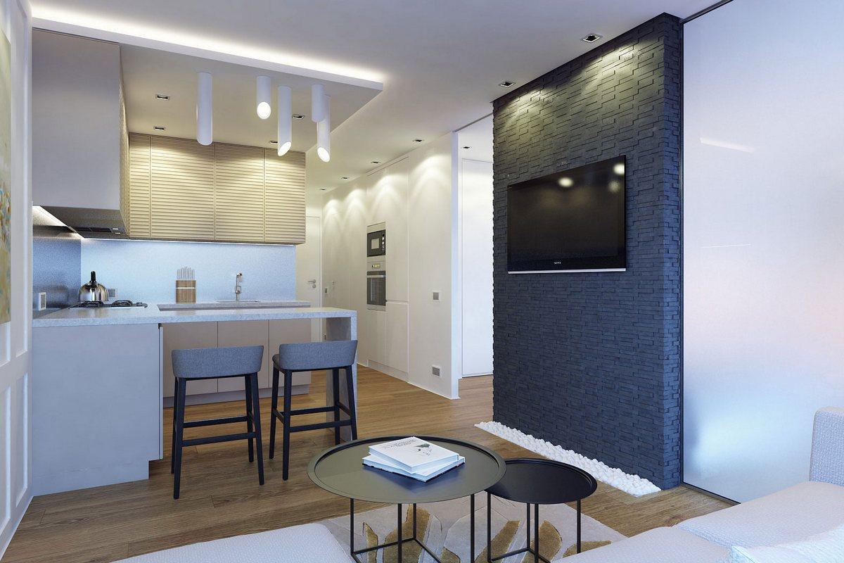 Дизайн однокомнатных квартир в новостройках фото