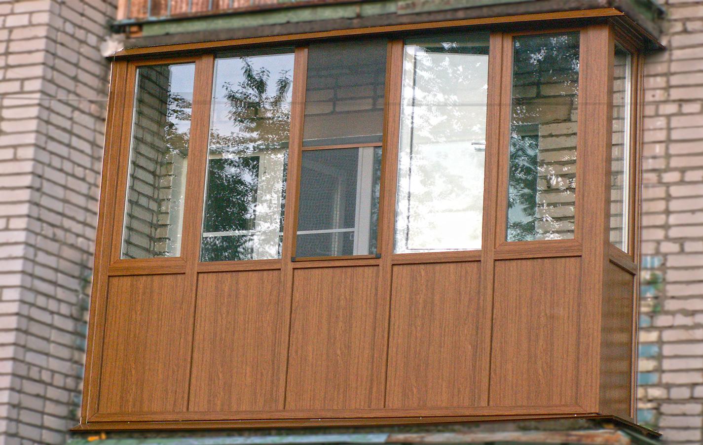 Обшивка балкона сайдингом-цена за метр кв. в феодосии.