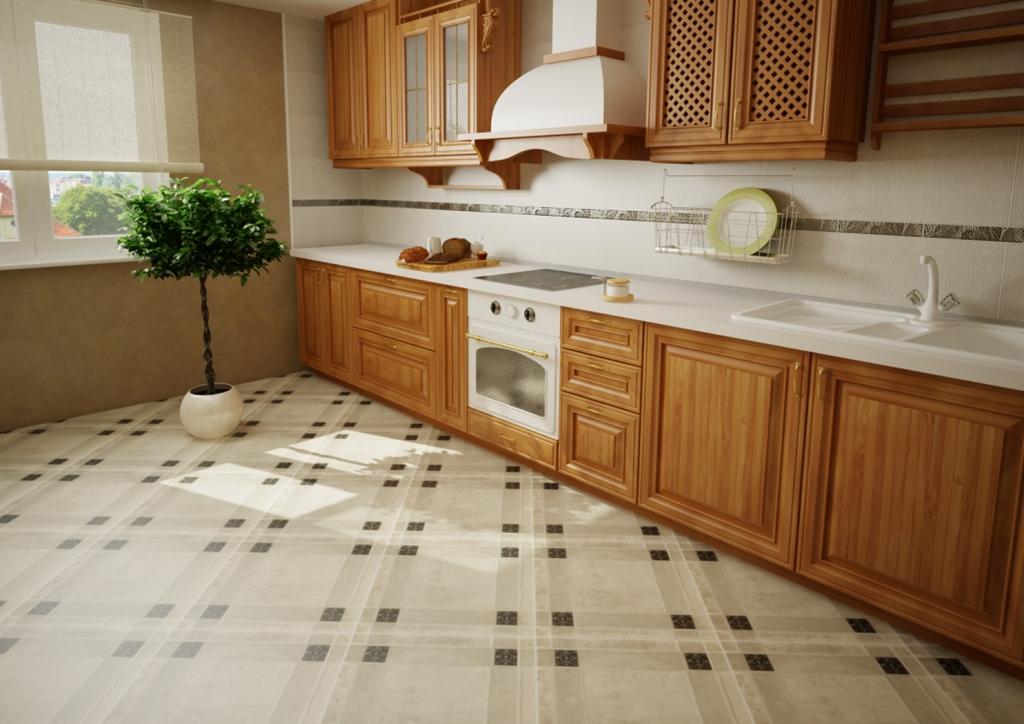 Дизайн кухни плитка керамическая