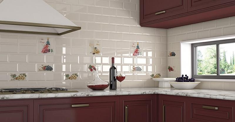 Керамическая плитка для кухни как подобрать кафель для стен и пол