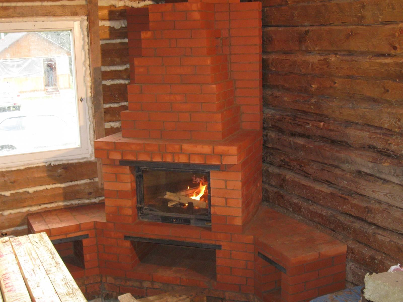 Схема печь для дома на дровах из кирпича фото9