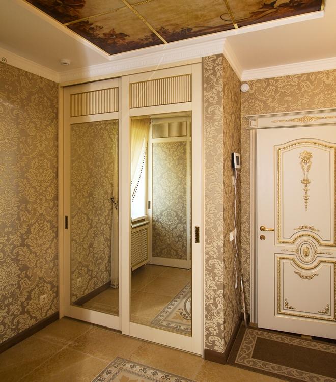 Шкафы купе дизайн классика