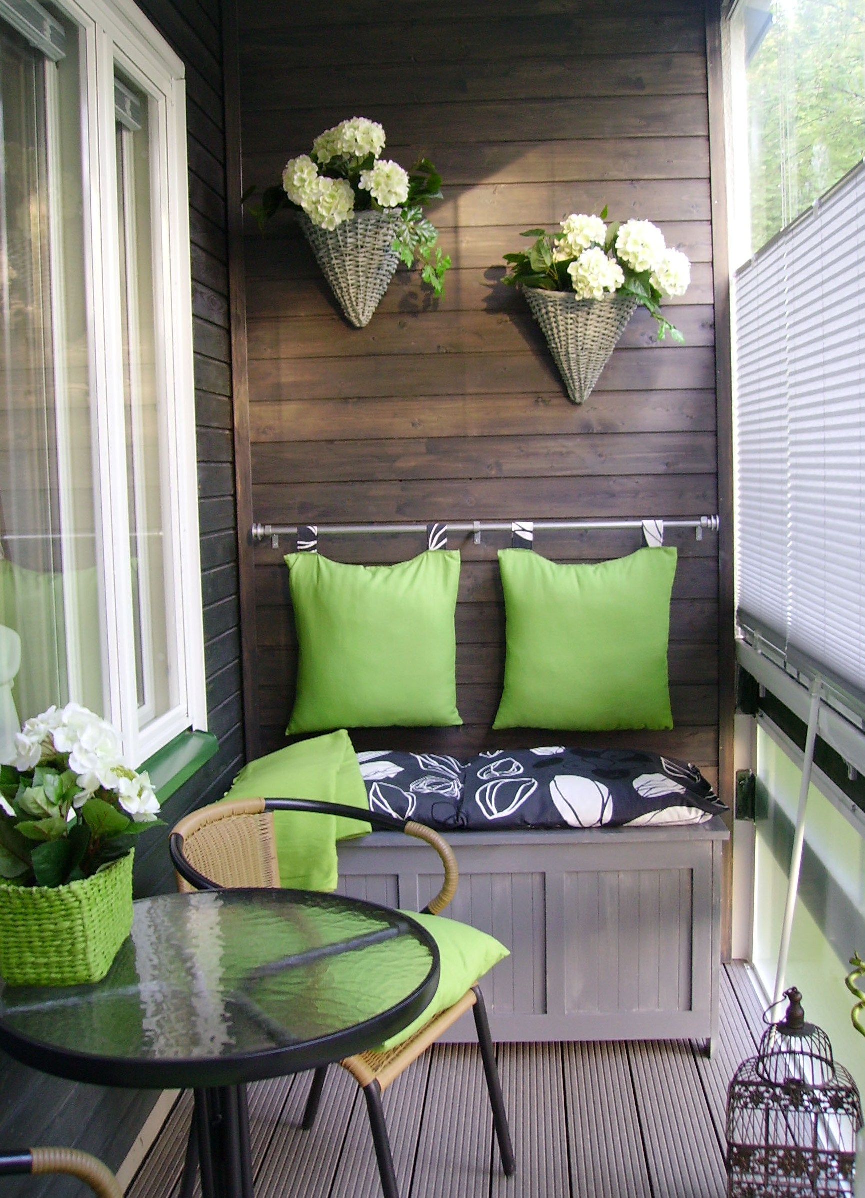 Мебель для балконов своими руками