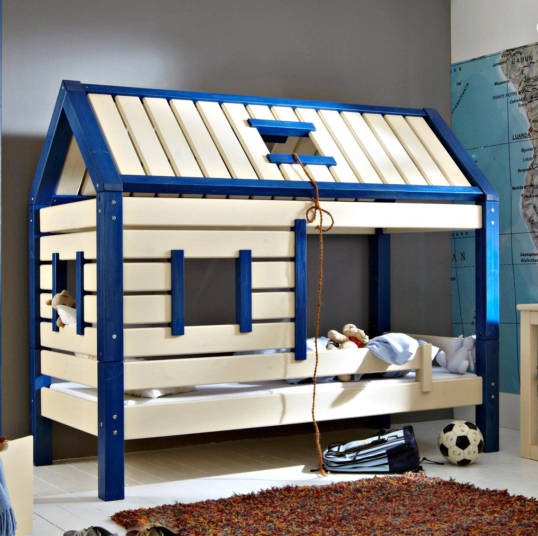 Кроватка домик для мальчика