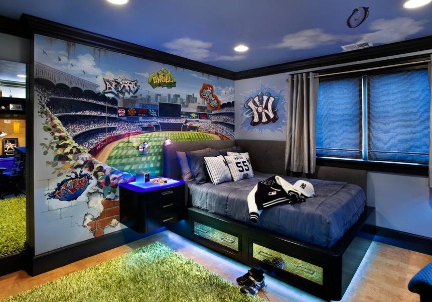 Спальни для мальчиков подростков дизайн