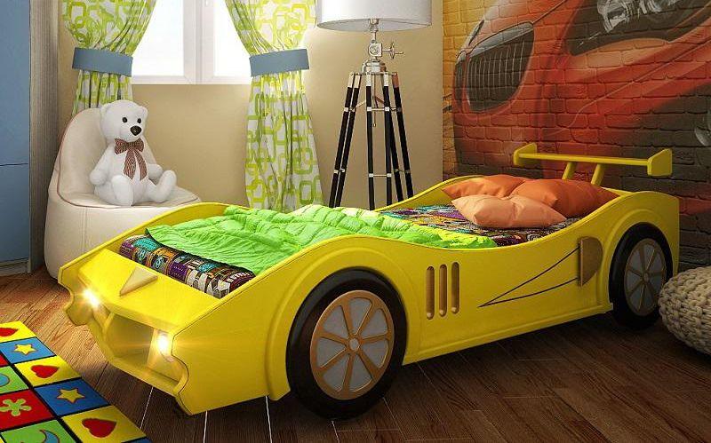 Детская кровать машин своими руками