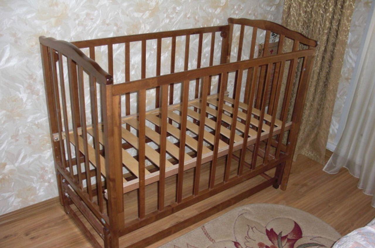 Детская кроватка маятник фото, детская кровать 35