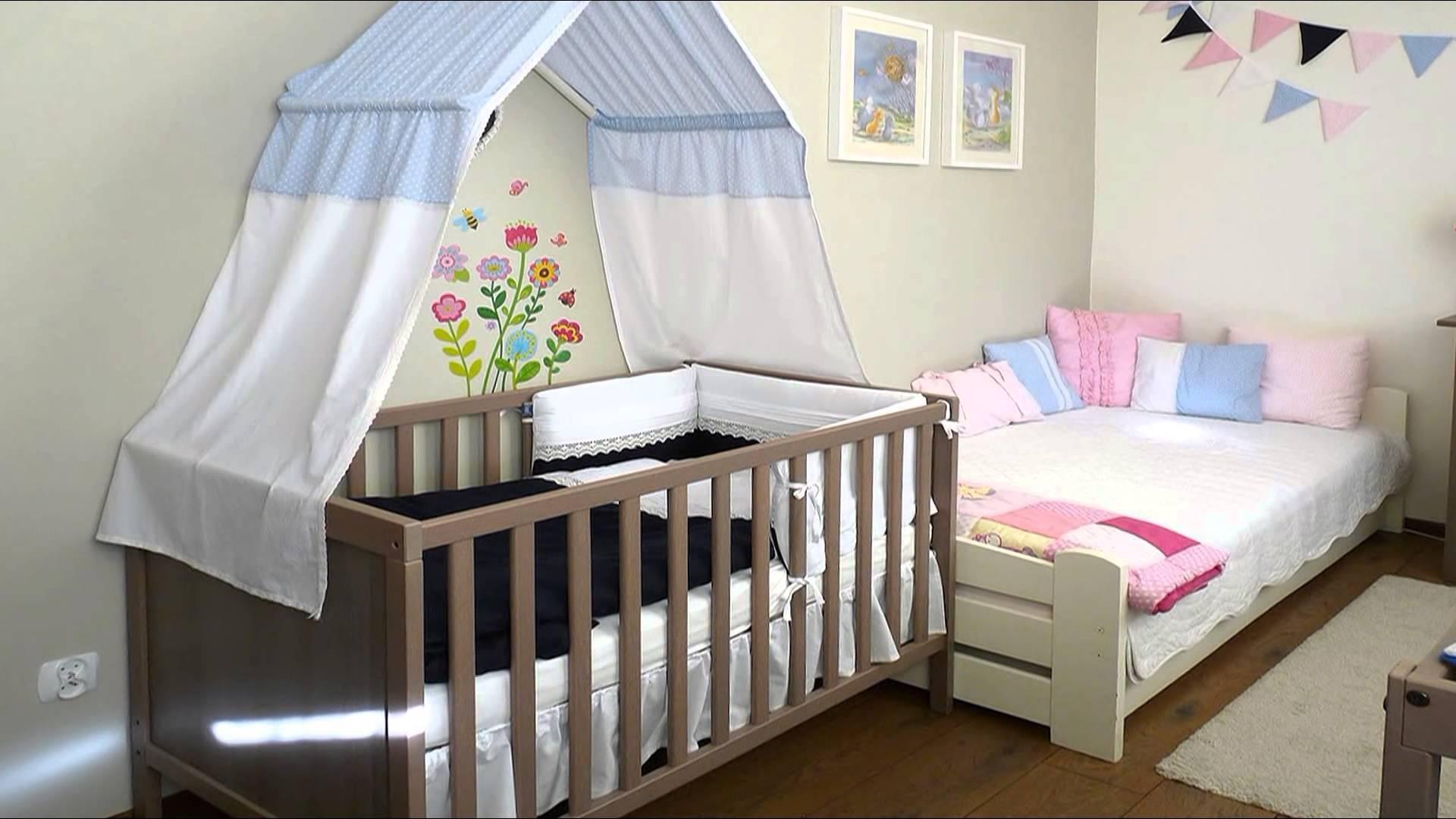 Полог для детской кровати сшить 71