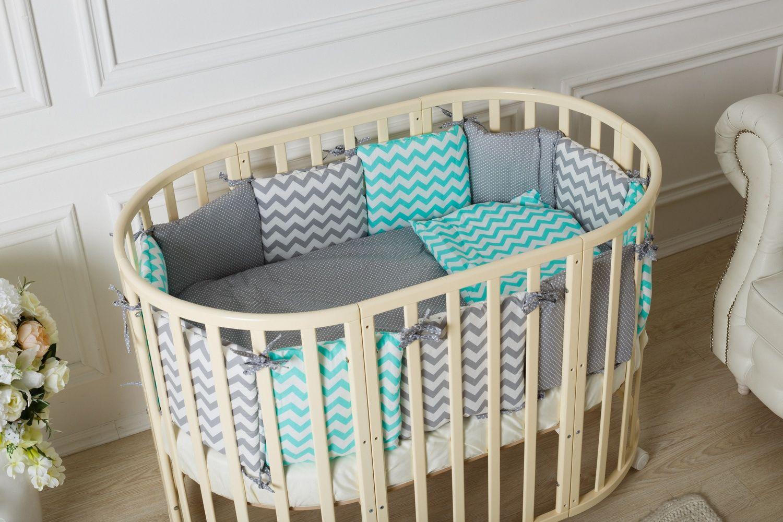 Детская кроватка трансформер для новорожденных может превращаться в различные по назначению вещи.