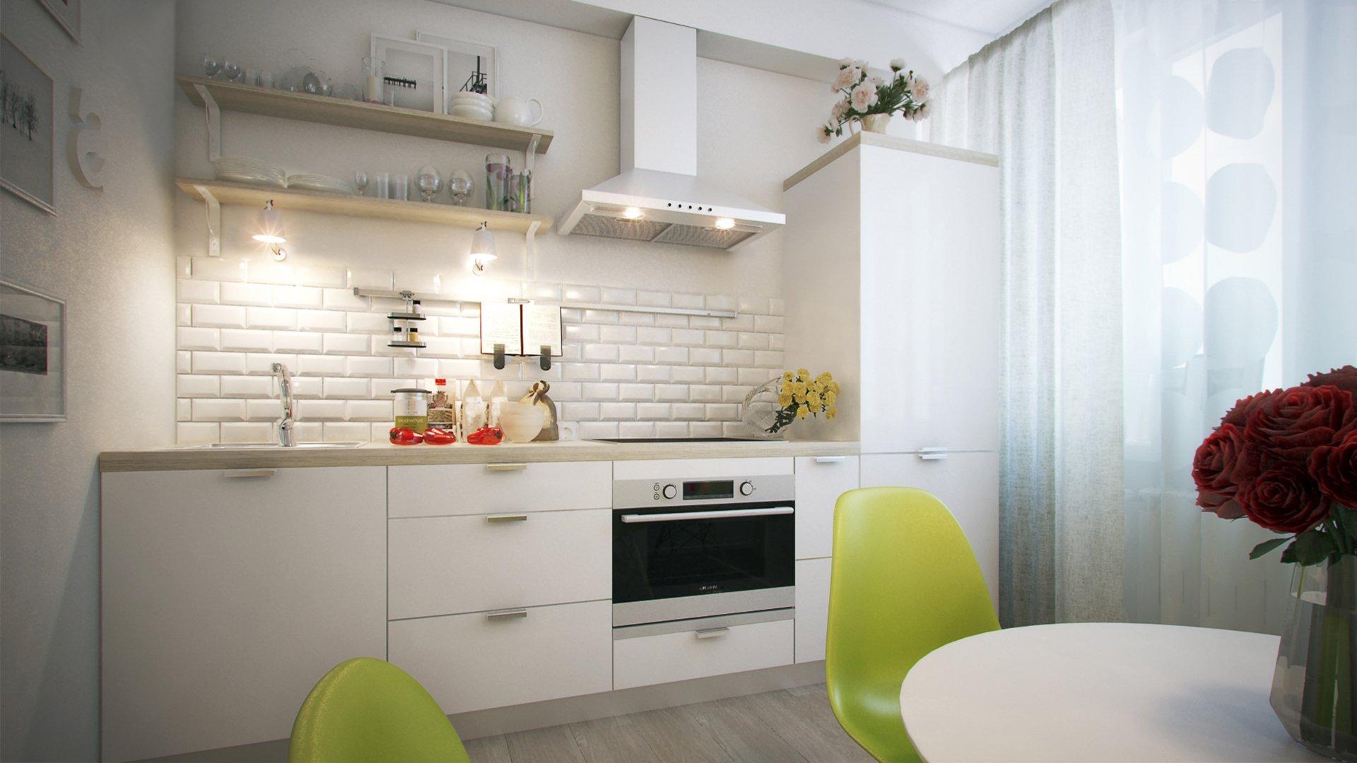 кухня без верхних шкафов 61 фото угловые кухонные гарнитуры без