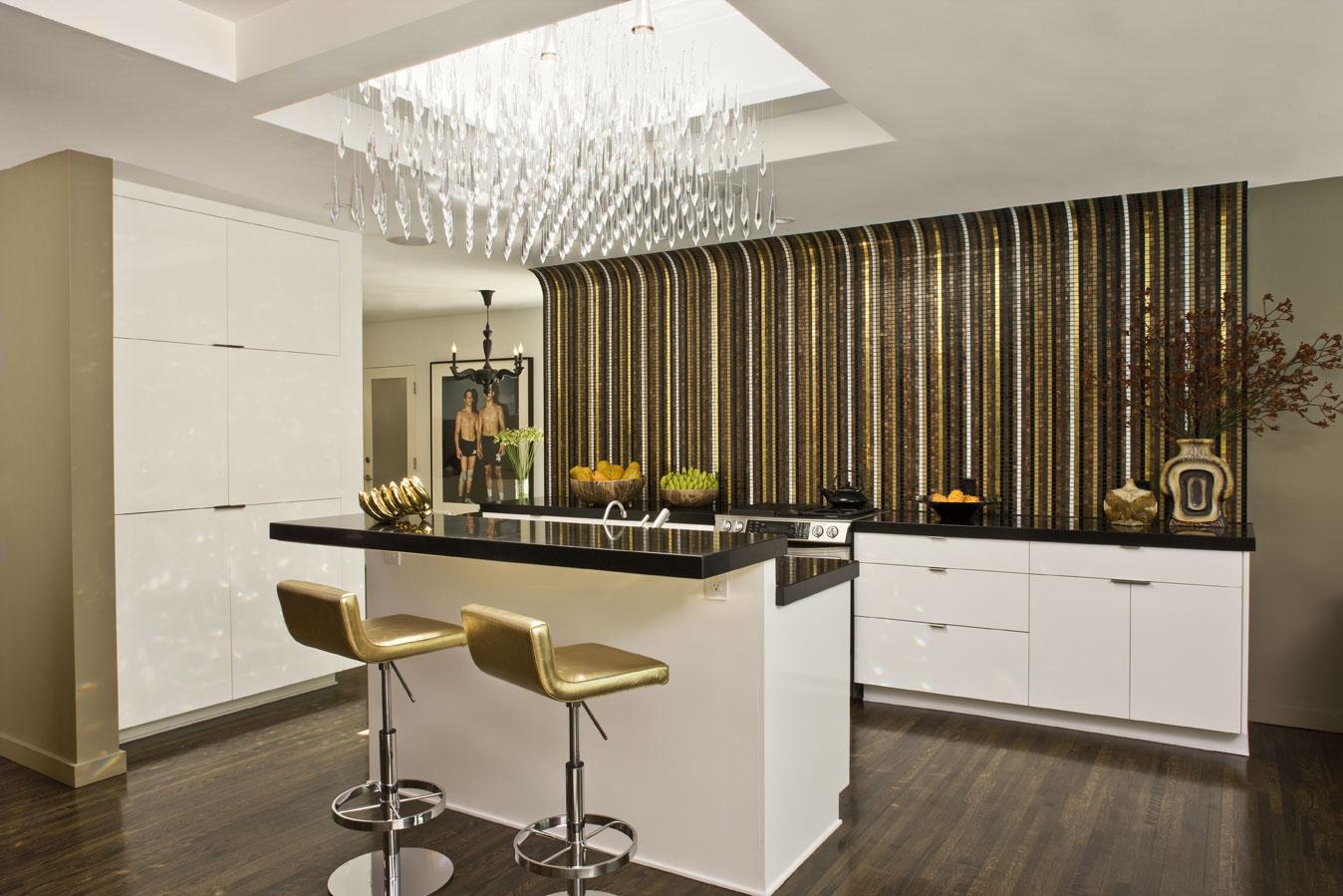 Кухни без верхних шкафов дизайн