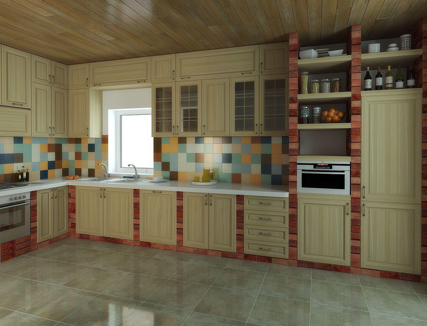Кухонная мебель из кирпича своими руками фото