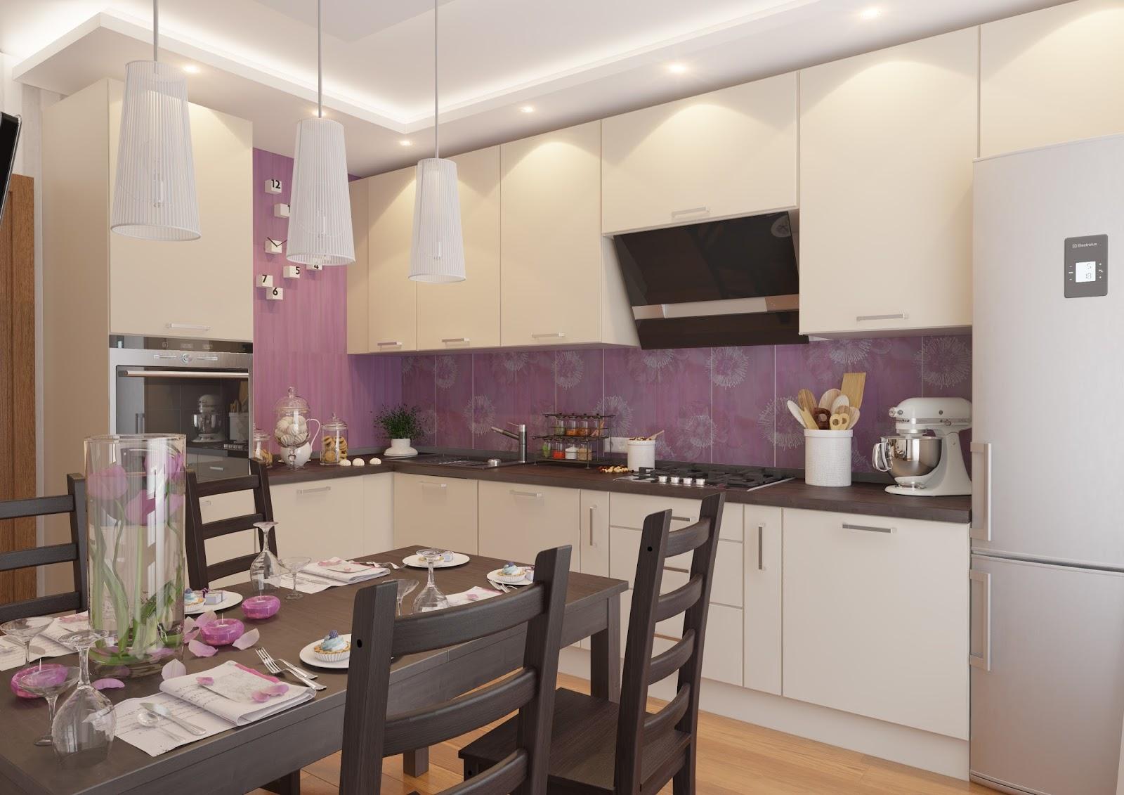 Дизайн кухни 12 кв м угловая