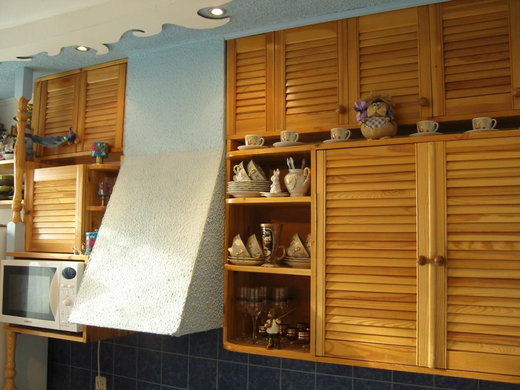 Деревянные шкафчики для кухни своими руками