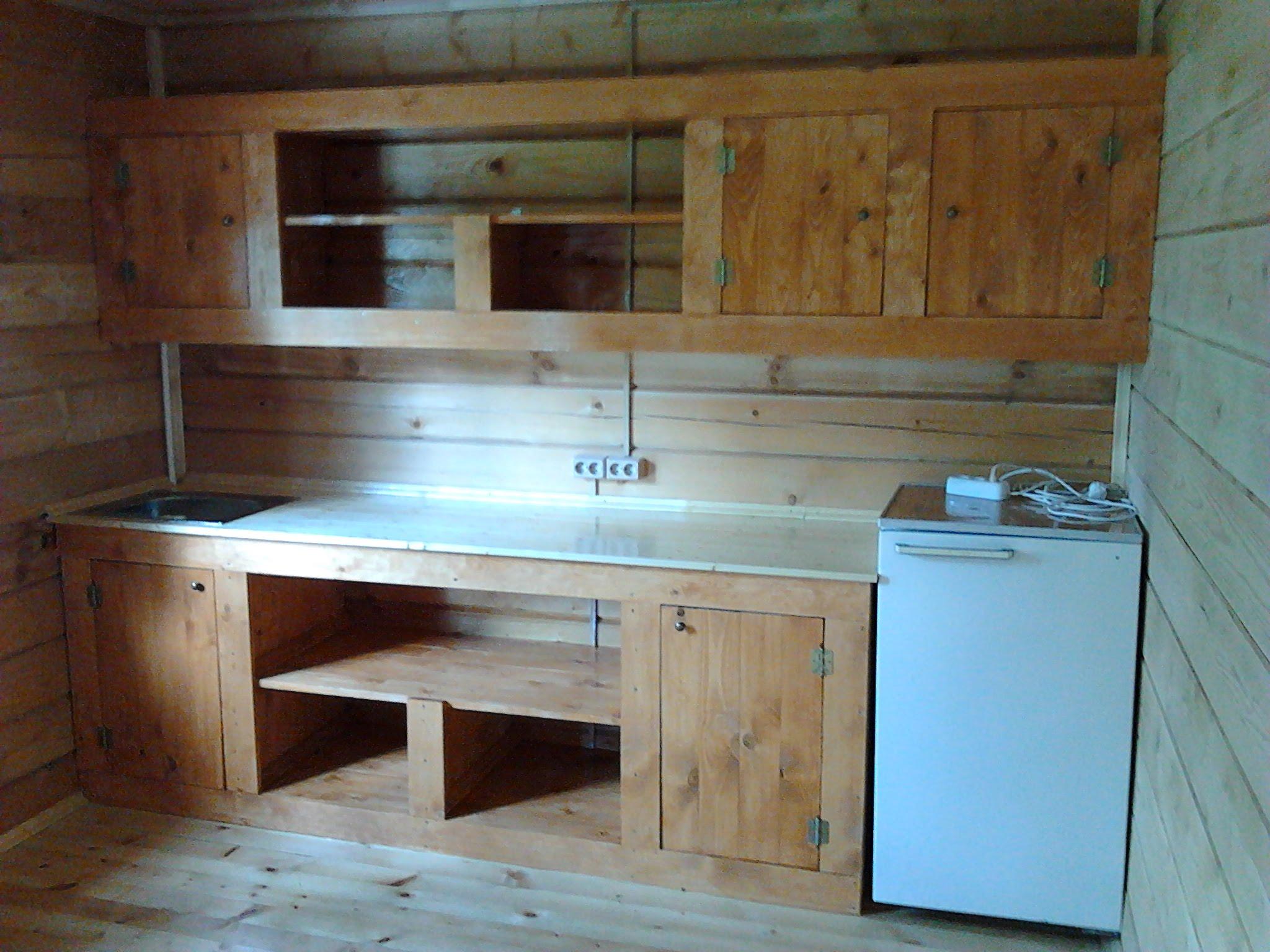 Как сделать кухонный шкаф уже