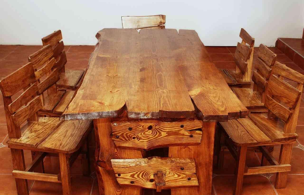 Как сделать стол из дерева своими руками чертежи простые