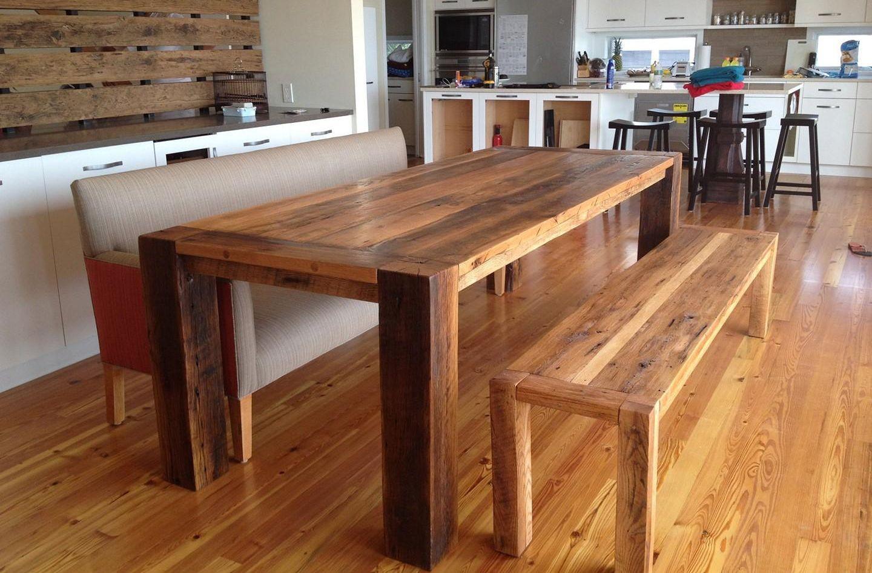 Как сделать кухонный стол из дерева своими руками чертежи