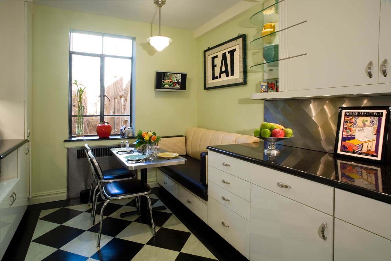 Обеденная зона на кухне (57 фото): интерьер, мягкая мебель, .