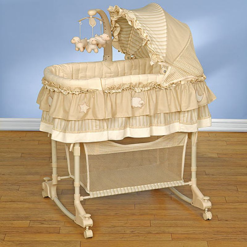 Кроватка колыбель для новорожденного