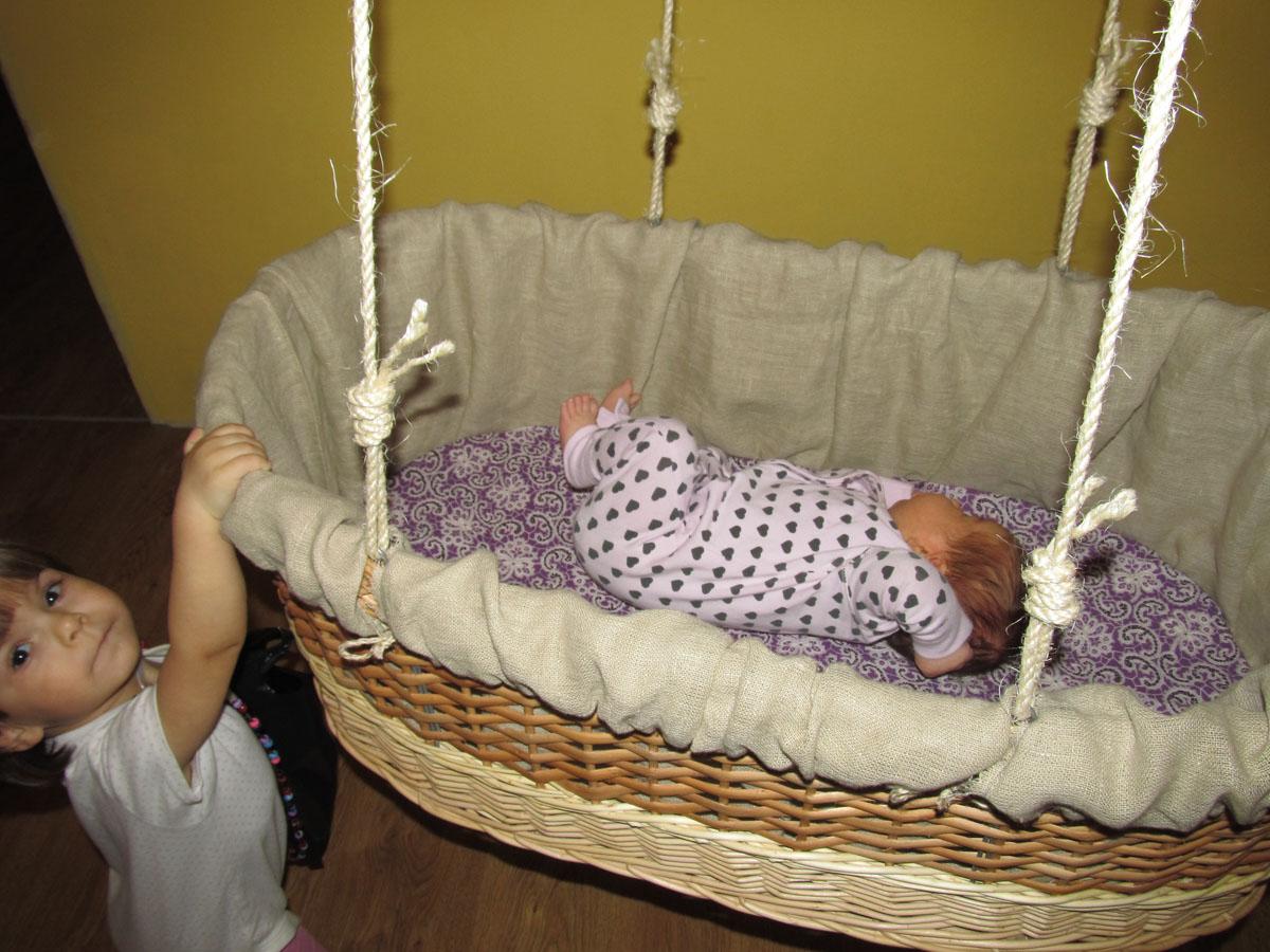 Люлька колыбель для новорожденных своими руками макраме