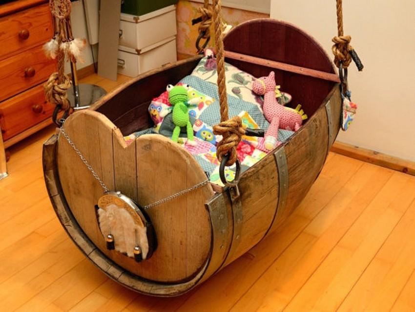 Сделать детская кроватка