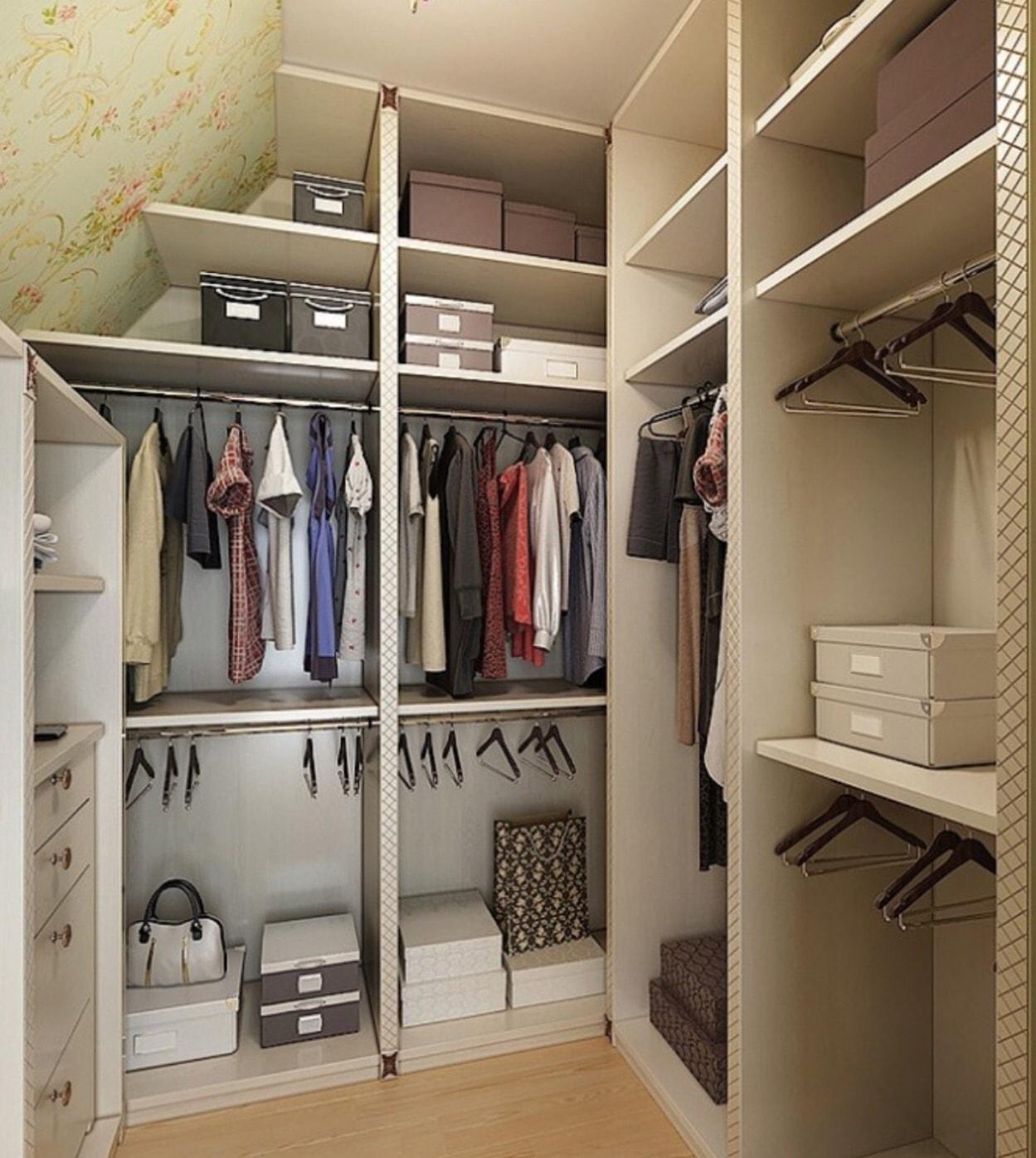 Как сделать в квартире гардеробную фото 933