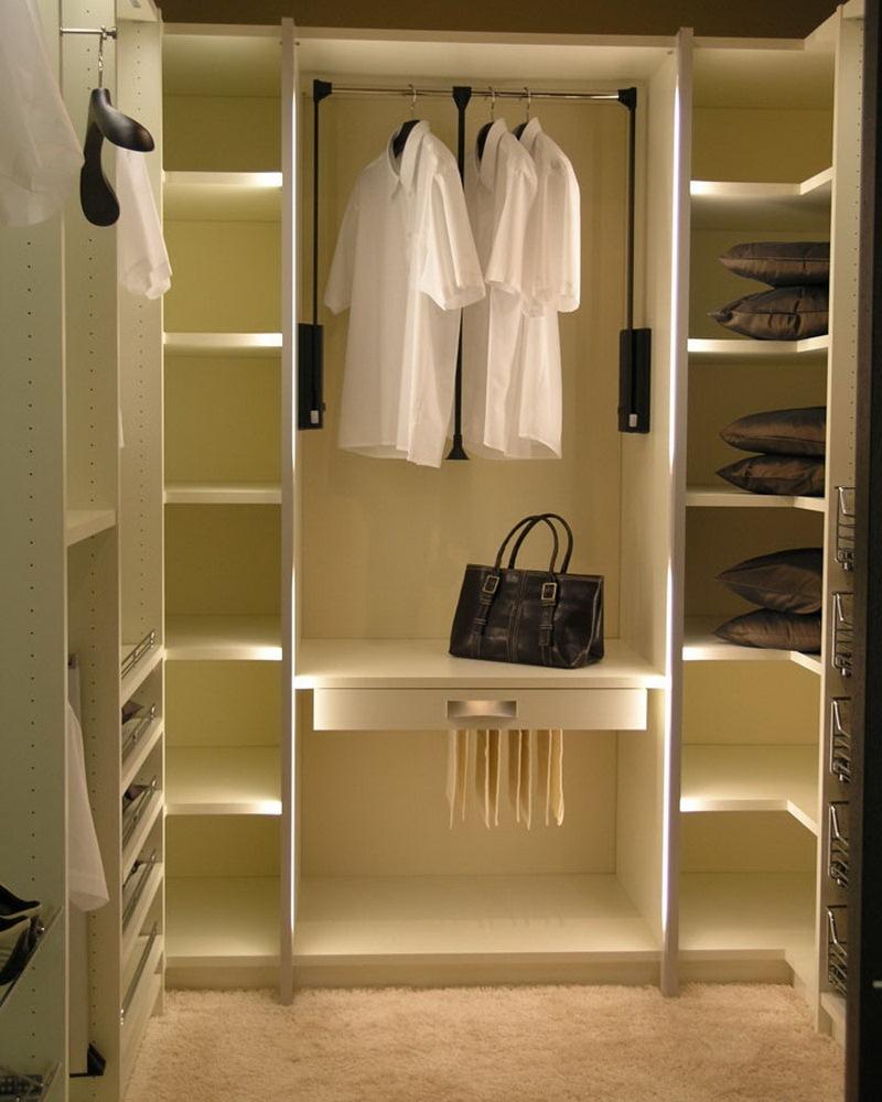 Как делают гардеробные фото