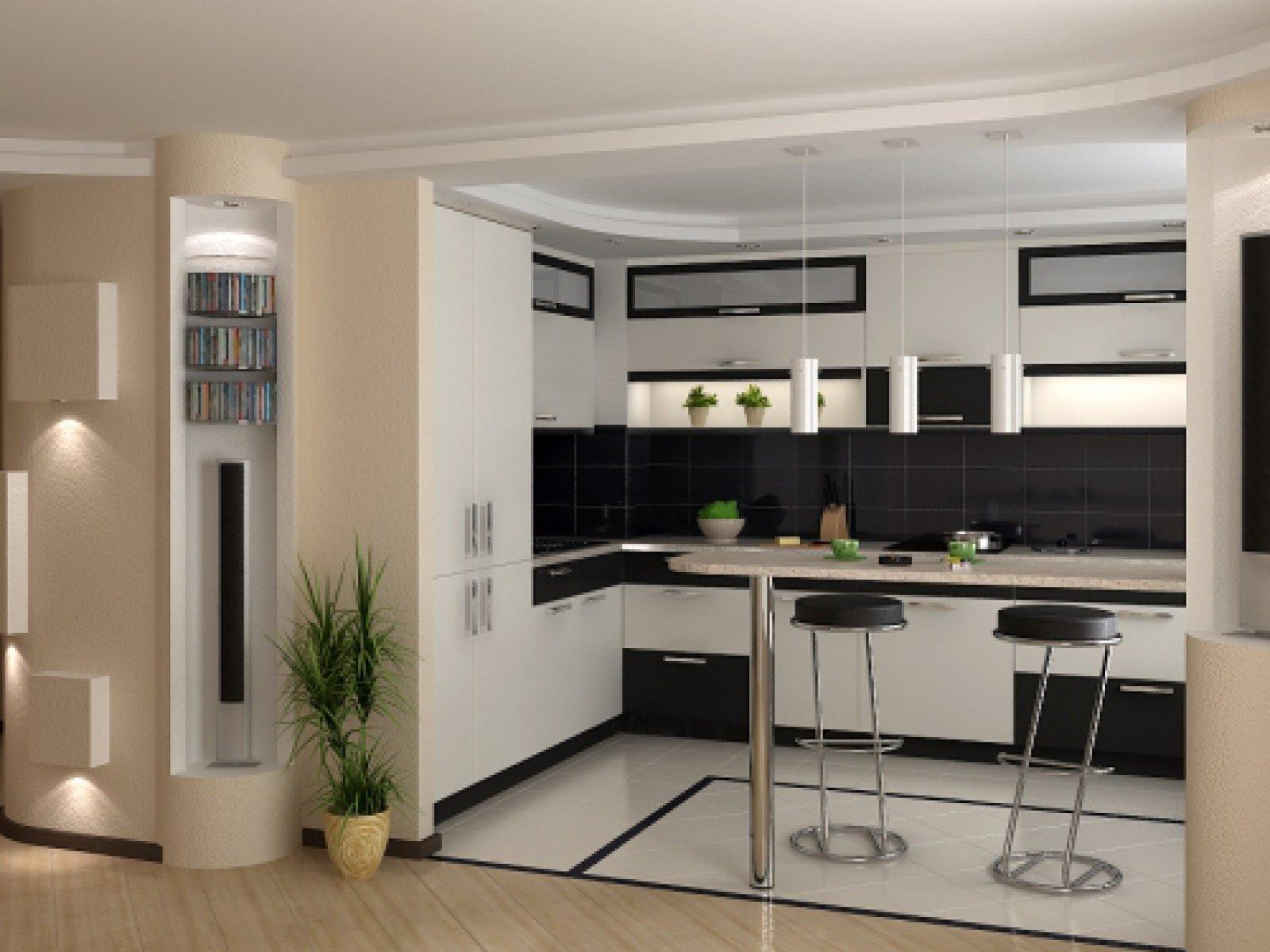 """Фото дизайн кухни с барной стойкой"""" - карточка пользователя ."""