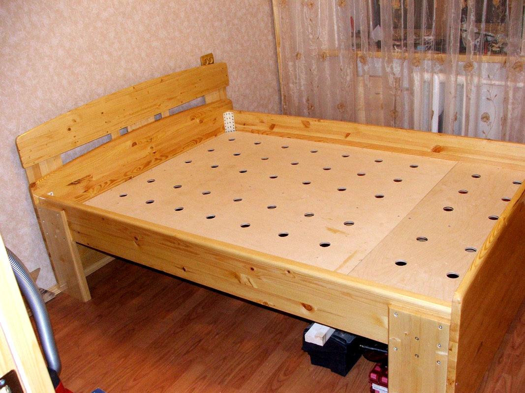 Фото деревянной кровати своими руками фото фото 242