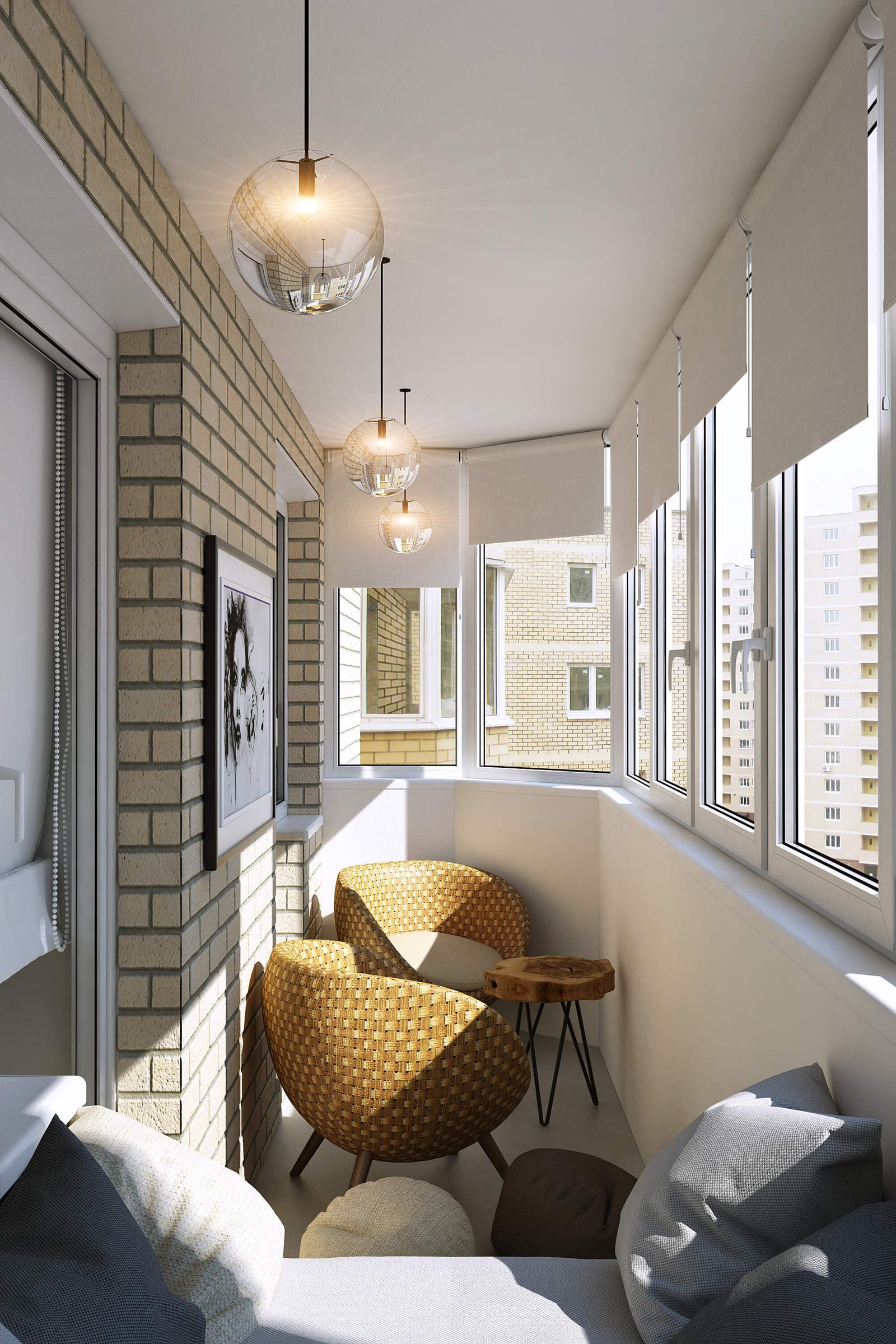 Балкон 3 м кв дизайн