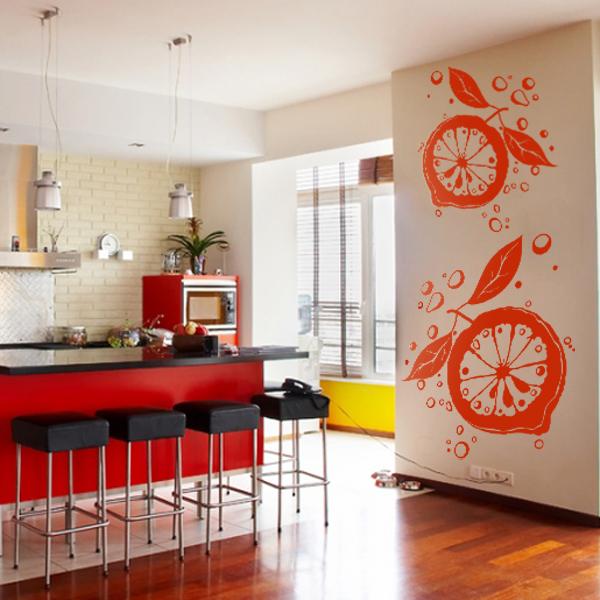 Как раскрасить своими руками стену на кухне 67