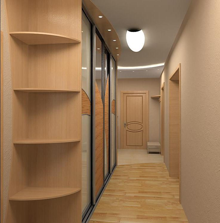 ремонт квартир дизайн коридора фото #10
