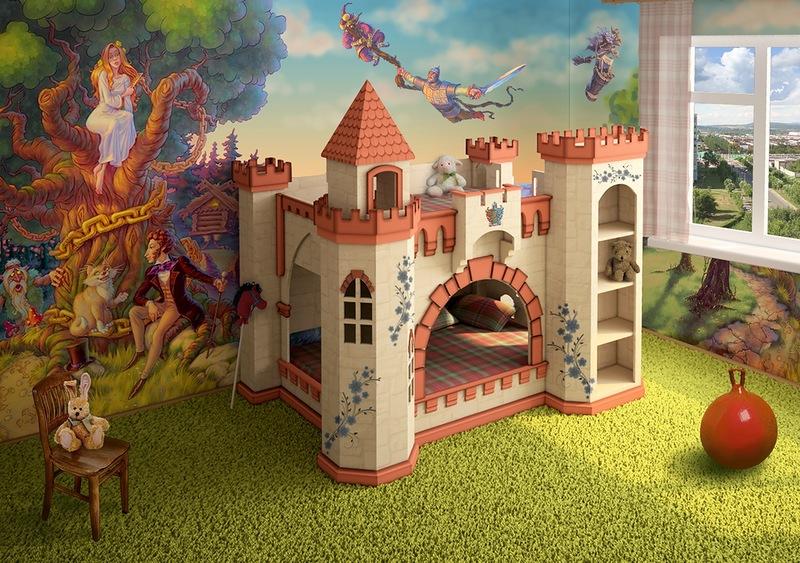 Детский игровой замок своими руками