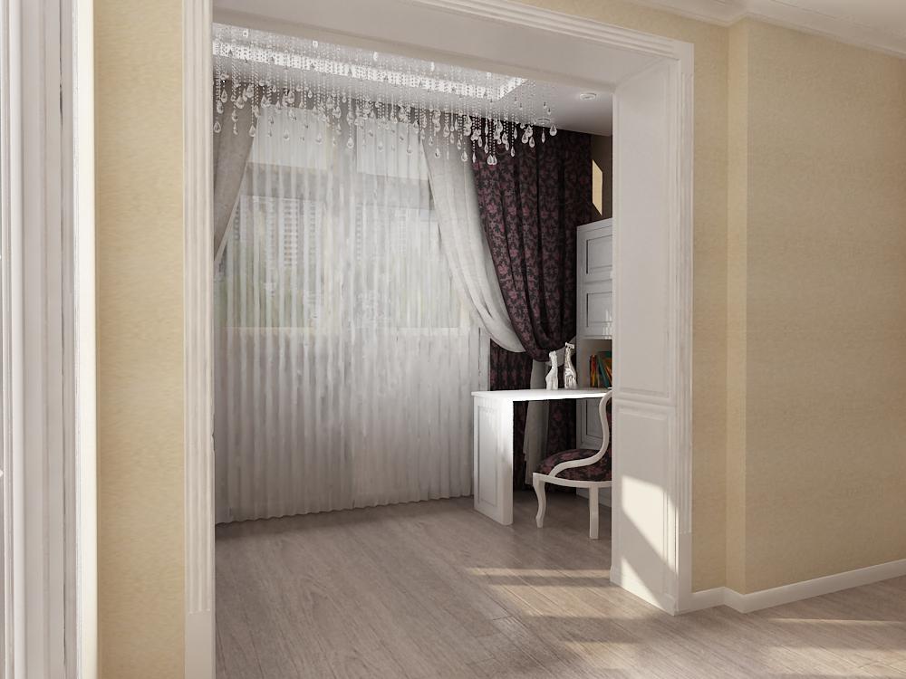 Балкон утюжок перепланировка. - дизайнерские решения - катал.