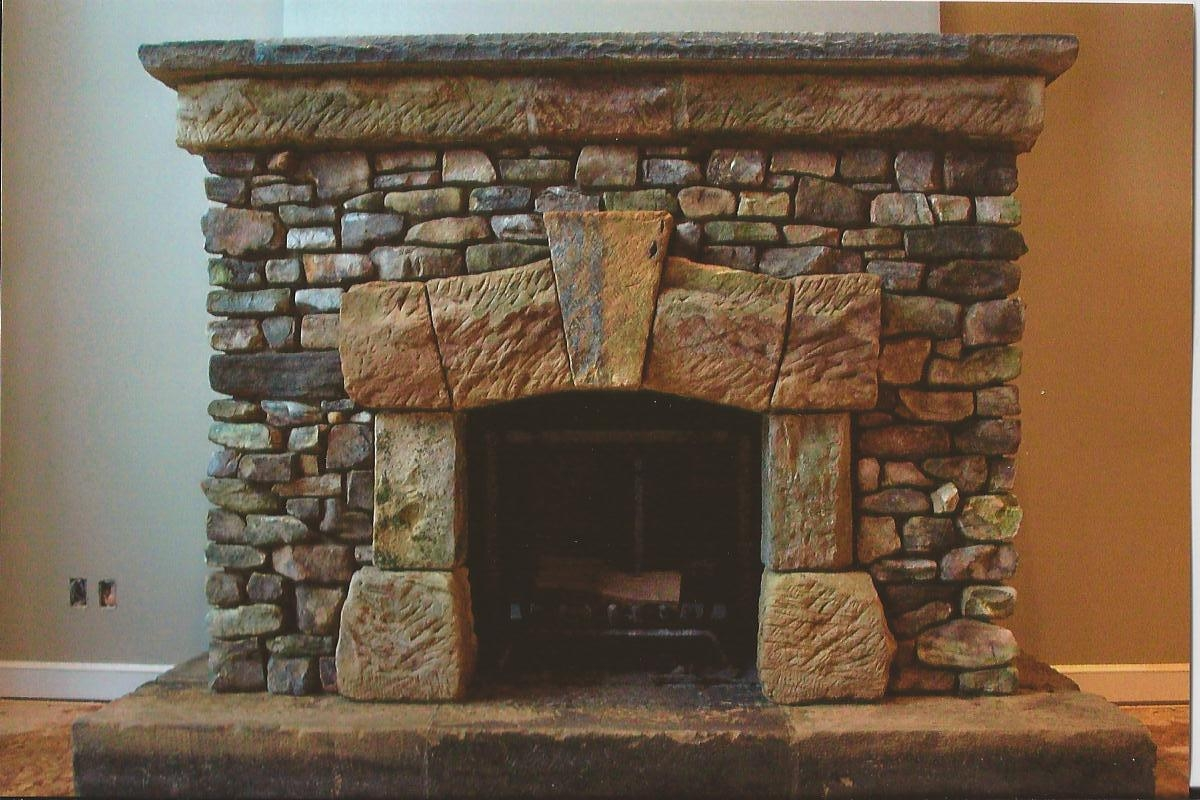 Images of stone fireplaces