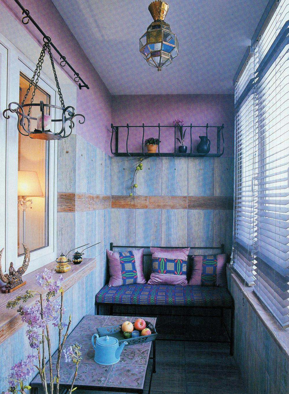 Идеи для дизайна балкона - (на!)бросок жизни.