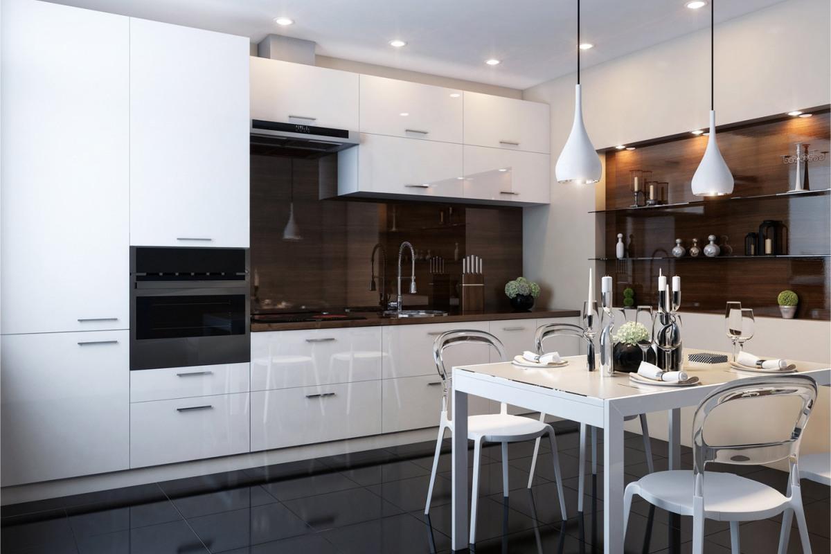 Кухни глянец дизайн интерьер